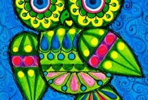 Owls / by Odette D