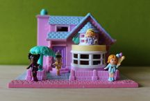 Vintage Polly Pocket / My collection of Polly Pocket playsets from the 90's  ***under construction***