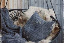 Pledy, narzuty, poduszki na drutach