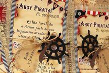 cumple pirata de Pedrito❤