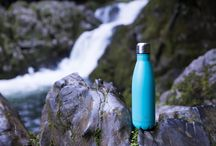 check out aqwa.co.nz and ditch the plastic bottle! / Eco friendly stainless steel drink bottles