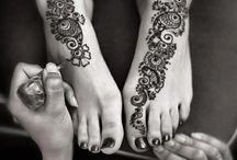 henné pied