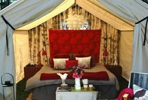 "::Lux Glamping:: / ""glamping"" — camping made glamorous. Combination of the ""diy aspect of Glamping & Resorts"""