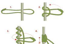 Knots, lashings, cordage