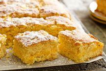 Cakes / Pear custard cake