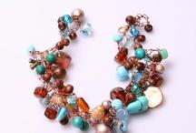 Crochet jewelleries