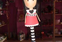 gorjuss / me encantan estas muñecas y hacer manualidades con ellas!!!