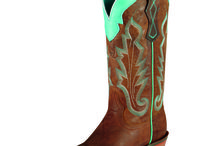 Cowgirl boots! :)