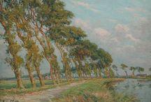 Belgian Landscape Painters