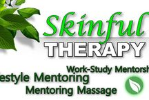 Skinful Therapy / Check out my new line of services, Skinful Therapy.  Includes Lifestyle Mentoring,  Mentoring Massage and Work-Study Mentorship.