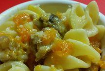 Granfusilli con zucca e salsiccia