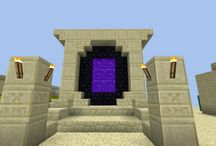Minecraft nether portal (sand)