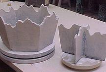 Ceramics / When I had access to the equipment...