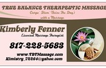 True Balance Theraputic Massage / Educating clients about how massage therapy can assist in their overall health and wellness.