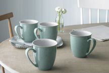 Denby: Elements / The Denby approach is simple; beautiful and practical tableware designed for modern life. When modern life requires a no-fuss range of hard-wearing yet still beautiful items, enter Denby Elements. This is style made simple.