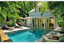 pool and patio / by delcie gavin