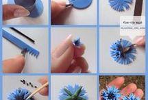 flowers polymer clay