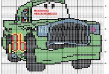 grille c2c crochet cars