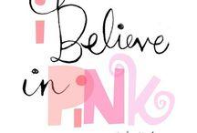 Pink & Peach