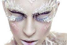 White eyelash