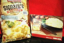 Idahoan Signature Russets Mashed Potatoes / I receiveda 3.25 OZ of Idahoan Signature Russets Mashed Potatoes in my Influenster VoxBox, free to test this product. Therefore, I would like to state that I was very surprised with the taste of this product due to the taste of the instant mashed potatoes tasting like homemade mashed potatoes. Furthermore, I definitely would recommend Idahoan Signature Russets Mashed Potatoes to anyone to make for dinner, as you will find that these taste amazing! #SignatureRussets