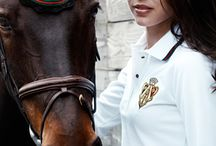 Equestrian style / Stylish people in the light of equestrian sports