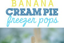 Recipes - Popsicles, Ice Cream and Frozen Treats