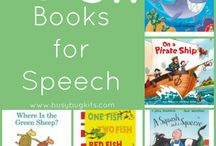 Books for Speech / by Caitlin Miller
