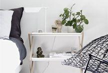 B/W Bedroom / Bedroom