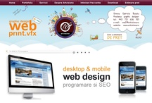 Web design / Web projects created by Simona Buzatu, artvisiona.ro