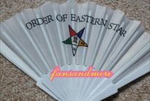 Order of Eastern Star Fans and More / Sorority Fraternal assortments