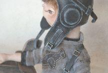 Шлем летчика