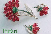 Trifari vintage jewelry