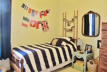 "Boy's Travel Themed Room / We love to travel with our son. Here is how we incorporated our travels into his ""Big Boy Room."" / by Nicole Taylor"
