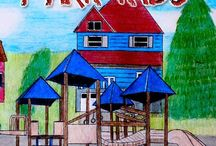The Castle Park Kids / My new middle grade book published on CreateSpace 10/3/2014