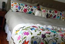 mantas y almohadones