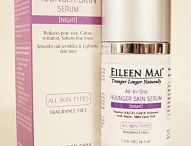 EILEEN MAI® Serum / Serums infuse the skin with needed vitamins and minerals. The light aloe based of EILEEN MAI concentrated natural & organic serums ensure deep penetration into the skin to impart a healthy glow from within. The high concentration of active ingredients in EILEEN MAI's serums plump and smooth the skin to control unpleasant skin conditions and provide a youthful and healthy look.  Serums are applied after cleansing and toning, before moisturizer, the final step of the skin care regime.
