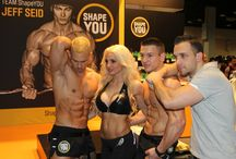 FIBO 2014 - TEAM ShapeYOU / FIBO - the world's biggest fitness expo in Cologne Germany.  At the ShapeYOU FIBO stand the most popular fitness stars came together - Jeff Seid from the US - Alon Gabbay and Felix Valentino from Germany and Stephanie Davis from Austria.