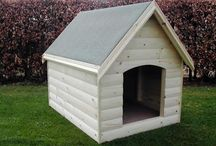 Dog Kennels We Make / Photographs of the dog kennels we make. Our kennels are very high quality and our range includes luxury dog kennels and dog kennel and runs.