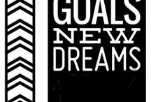 Goal Setting / Thoughts starters for goal setting