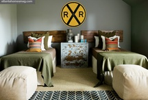 teen boys bedroom  / by Kim Rowland (Today is My Someday)