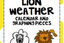 Lion/Lamb activities