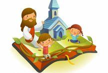 Ministério Infantil / Visuais, histórias e trabalhos manuais bíblicos para crianças