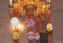 Украшение храма цветами