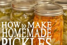 homemaded pickles