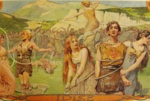 Valkyries / Choosers of the slain, shield-maidens, wish-maidens, swan-maidens, Valhalla waitresses & much more. / by Norse Mythology