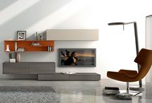 Wall Systems / Contemporary Wall Systems available through Theodores Furniture