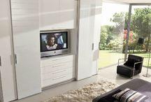 TV wardrobe