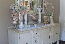 shabby chic living / My favorite of all favorites ✌
