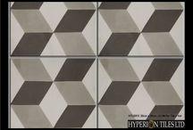 Real Encaustic Tiles 2015/16 / Our new range of encaustic tiles